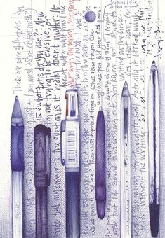 Ballpoint illustration by Andrea Joseph Journal D'art, Art Journal Pages, Art Journals, Sketch Journal, Sketchbook Inspiration, Art Sketchbook, Ballpoint Pen Drawing, Biro, Pen Art