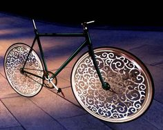 Marcel Wanders bicycle by Melanie in New York