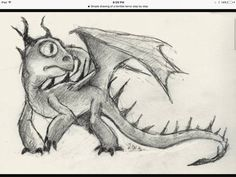Dragon drawing my favourite
