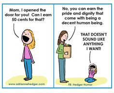 Mom's Parenting Cartoons Will Have You Nodding In Solidarity