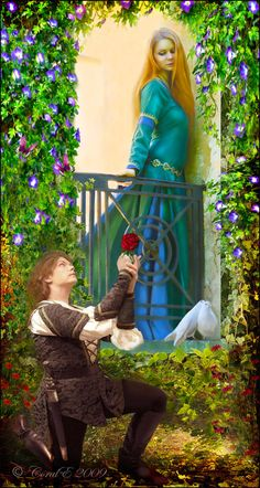 Romeo and Juliet by cemac.deviantart.com