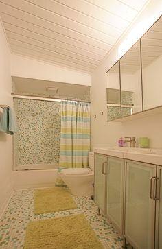 Period bathroom renovation - ca 1965 Atlanta contemporary