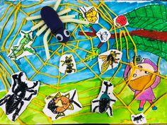 사직점[초등1~2학년 아동반]7월 수업-한여울미술학원.[부산사직동미술학원/온천동미술학원/연산동미술학원] : 네이버 블로그 School Art Projects, Projects For Kids, Diy For Kids, Crafts For Kids, Painting For Kids, Drawing For Kids, Fun Crafts, Arts And Crafts, Ecole Art