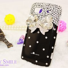 $5.16 black rhinestone iphone case from zzkko.com