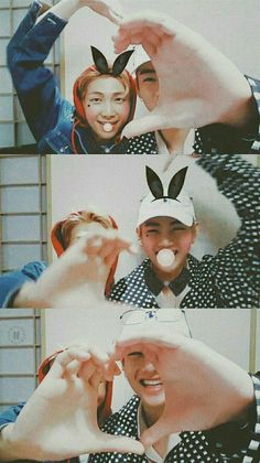 Rapmon and V💖 Namjoon, Seokjin, Taehyung, Rapmon, Jimin, Bts Bangtan Boy, Bts Aegyo, Bts Memes, K Pop