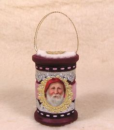 Beautiful Vintage Style Spool Ornament with by vintagecornucopia, $12.95