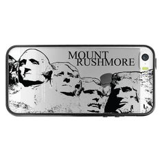 Cellet Mount Rushmore Design Cell Phone Case for iPhone 5, 5s, SE - Clear. CUSTOM BUILT for the Apple iPhone SE, 5s, 5. BEST OF BOTH WORLDS - made of both Polycarbonate plastic (PC) and TPU (thermoplastic polyurethane) for superior protection and function. EASY INSTALLATION - designed to snap on and off easily without scratching or damaging the phone. READILY ACCESSIBLE buttons, controls and connector ports. HASSLE FREE WARRANTY- Your satisfaction is guaranteed with a 3 year worry free...