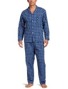 Hanes Men's Long Sleeve Leg Pajama Gift Set « Clothing Impulse