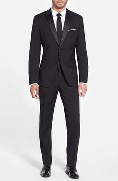 BOSS 'The Stars/Glamour' Wool Tuxedo