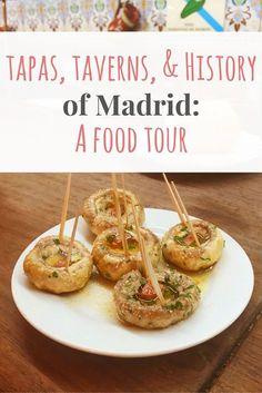 Madrid Food Tour · Kenton de Jong Travel - Madrid Foot Tour - Passports and Plates http://kentondejong.com/blog/madrid-food-tour #foodietravel