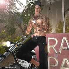 https://flic.kr/p/SaVMaa | A STOP HALF THE ROAD | Hair: { Speakeasy } Paul Hair (FATPACK) maps.secondlife.com/secondlife/Terra%20del%20Sole/132/195/22 Tattoo: { Speakeasy } Fade Out Tattoo Event: Hipster Fair maps.secondlife.com/secondlife/Home%20Town/98/39/23 Piercing: !NFINITY Scabere Piercing Collarbone Hipe Left and Right Event: MOM maps.secondlife.com/secondlife/Sunset%20Ambiance%20Island... Deco: OR K1000 FREEDOM SERIES (600 poses - BOX)…