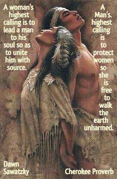 Cherokee Proverb