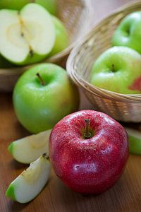 Fresh Organic Apples by Bruce Wang Apples, Fine Art America, Basket, Organic, Fresh, Food, Meals, Yemek, Eten