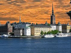 Stockholm on the Baltic