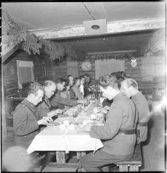 Sota-aikana syötiin kohtuullisen hyvin.