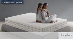 Dal #Blog #Dorelan: 10 semplici ragioni per utilizzare un #Topper sul tuo #materasso