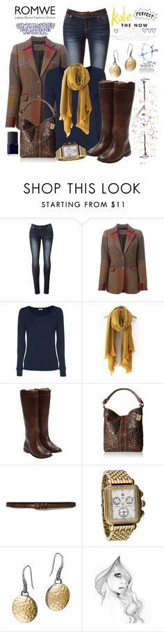"""Set 380: ROMWE"" by ussms1107 ❤ liked on Polyvore featuring Etro, Splendid, Frye, Abercrombie & Fitch, Michele and John Hardy"