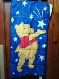 Disney Winnie the Pooh Plush Sleeping Bag Slumber Party Camping #Disney