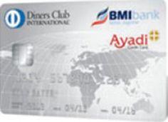Diners Club card Ayadi | BMI bank Bahrain