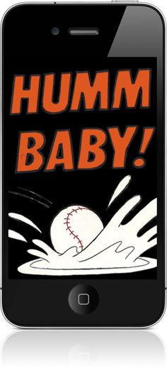 The Humm Baby iPhone app allows San Francisco Giants fans to insert props into their photos.