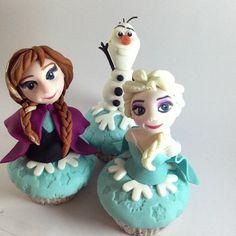 frozen cupcakes   Frozen cupcakes today ⛄