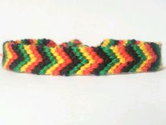 Braided Bracelet Chevron Bracelet Friendship by beausbitsandbobs on Etsy $6.74