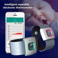 iFever Wearable Bluetooth Smart Baby Monitor Intelligent Thermometer For iOS Android Phone by Youngstore -- You can get more details by clicking on the affiliate link Amazon.com.