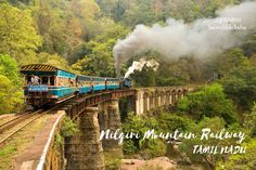 Enjoy the leisurely train ride to this picturesque hill station, #Ooty #Nilgiri Mountain Railway http://www.fredtravels.com/