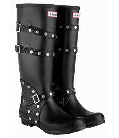 designer boots images | Hunter Designer British Wellington Boots