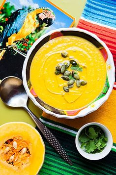 Mexican squash soup #TheArtofEatingWell