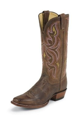 "Justin boots ""punchy"" I  just reordered a new pair!  My dog ate one of my boots.  He has good taste!!"