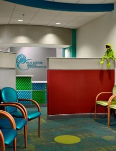 Van Meter Pediatric Endocrinology: Waiting Area- Click on photo for more info!