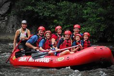 White water rafting in the Smokies is so much fun for the whole family!