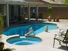 25 Sober Small Pool Ideas For Your Backyard | Backyard, Dips and ...