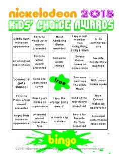 Kids-Choice-Awards-Bingo-4.jpg 2,550×3,300 pixels