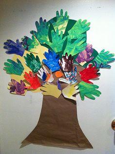 Fall Tree Handprint