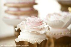 Ruffle Girl Cupcake