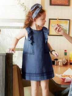 Abito con volant - Bambina - Kids - Shop & Cartamodelli Il mondo dei cartamodelli e del cucito