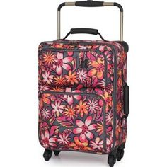 Buy IT Luggage World's Lightest Small 4 Wheel Suitcase - Floral at Argos.co.uk, visit Argos.co.uk to shop online for Suitcases