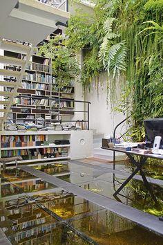 Office of Parisian botanist Patrick Blanc