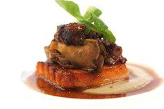 Salmon Belly . Oxtail Ragu . Maitake  by Studio Kitchen