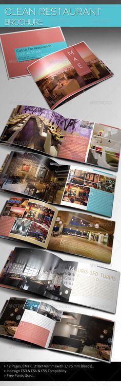 Colorful Hotel Brochure Hotel brochure, Brochures and Brochure - hotel brochure template