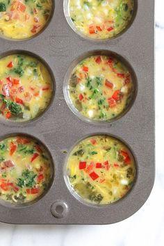 Loaded Baked Omelet Muffins   Skinnytaste