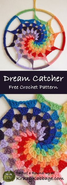 Rainbow Free Crochet Patterns – Krazykabbage #freepattern #crochet #rainbow #fashion #style #craft #diy