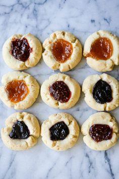 Gluten-Free Thumbprint Cookies