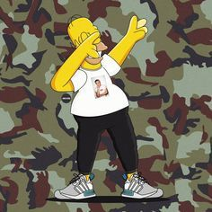Homer X Adidas NMD
