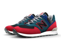 Design a one-of-a-kind NB1 574 to match your personal style. The 574 is the epitome of iconic New Balance design — and you can make it completely yours with unique colors, materials and signature details. So start a new trend or go against the grain — you know what you want, and we know how to craft it right.