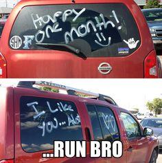 ....run bro..