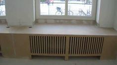 Hoe maak je zelf een radiator ombouw waar je op kunt zitten
