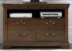 Chateau Valley Home Office Media File Cabinet (901-HO146)   Liberty